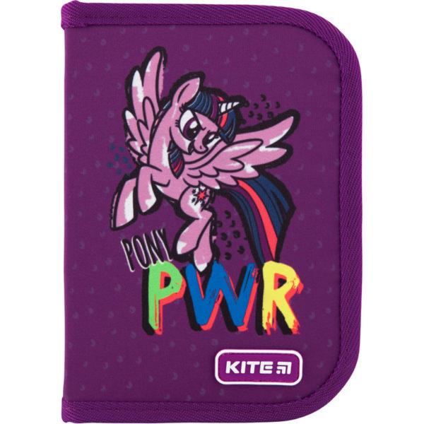 Пенал Kite My Little Pony 19,5x13x3,7см, 1 отделение, 1 отворот, без наполнения LP20-621