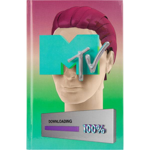 Записная книжка детская Kite MTV, MTV20-199-2, А6, 80 листов, твердая обложка, в клетку