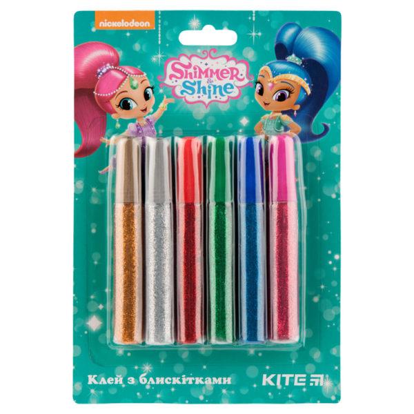 Клей с блестками Kite Shimmer&Shine 6 цветов SH19-107