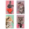 Блокнот-планшет Kite Studio Pets-2 А6, 50 листов, нелинованный SP19-195-2 (12шт/уп)