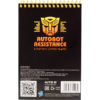 Блокнот на пружине KITE Transformers А6, 48 листов, нелинованный TF19-196 39557