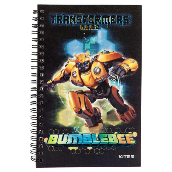 Блокнот на пружине Kite Transformers А5, 80 листов, клетка TF19-225