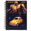 Блокнот на пружине Kite Transformers А6, 80 листов, клетка TF19-226