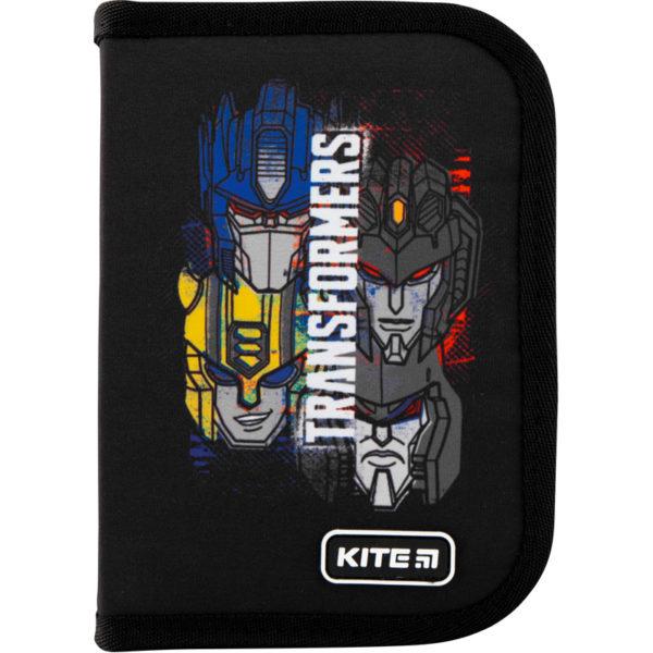 Пенал Kite Transformers-2 19,5x13x3,7см, 1 отделение, 2 отворота, без наполнения TF20-622-2