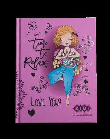 Блокнот KIDS Line YOGA, А5, 64 листа, клетка, твердая обложка, розовый ZB.12750-10