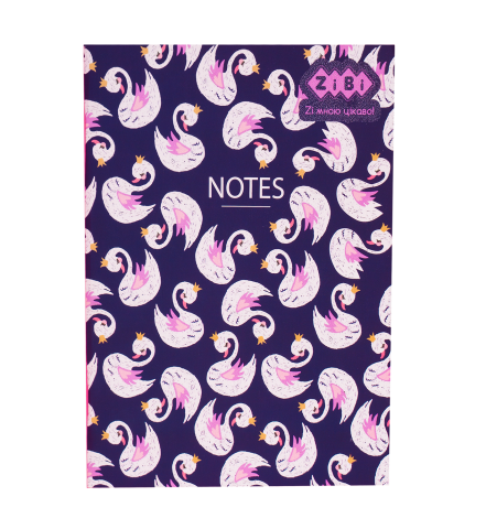 Блокнот KIDS Line BRIGHT, 140 x 187 мм, 32 листа, клетка, мягкая обложка, темно-синий ZB.12765-03