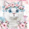 Дневник школьный FURRY CAT А5, 40 листов, в мягкой обложке, УФ-лак, ZB.13123