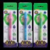 Ручка шариковая для левши KIDS Line с резиновым грипом, синий, дисплей, ZB.2001-01-1