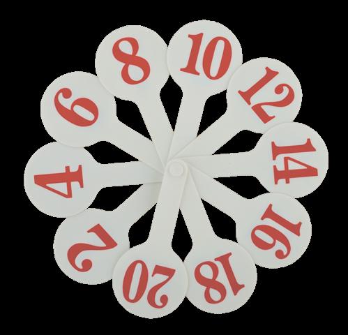 Набор цифр KIDS Line от 1 до 20, ZB.4900