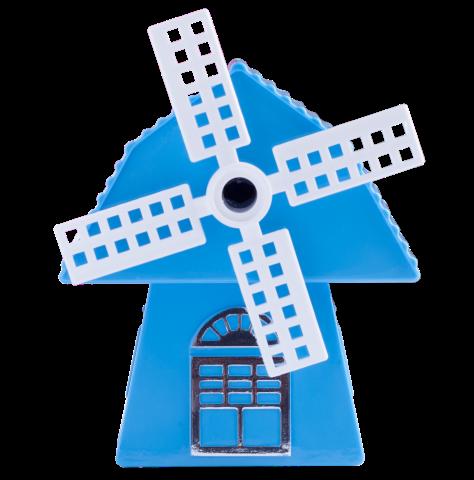 Точилка механическая Мельница, голубая ZB.5514