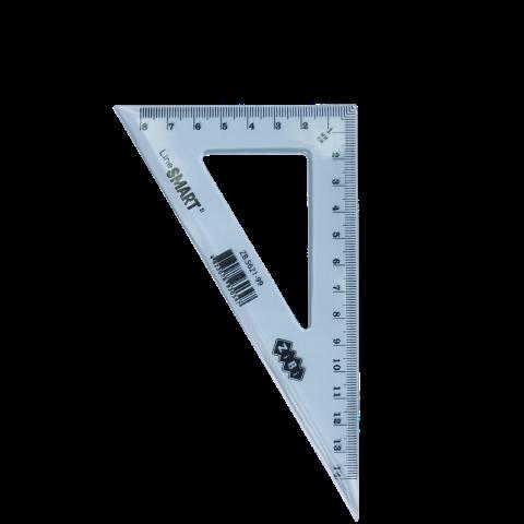 Угольник SMART Line 140 мм, 90°/60°, тонированный, ассорти ZB.5621-99