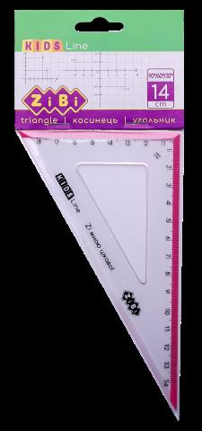 Угольник KIDS Line 140мм, 90°60°, блистер, ZB.5622