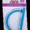 Транспортир KIDS Line 100 мм, блистер, ZB.5640 40414