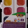 Акварельные водорастворимые краски на палитре KIDS Line 8 цветов