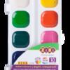 Акварельные водорастворимые краски на палитре KIDS Line 10 цветов