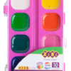 Акварельные водорастворимые краски на палитре KIDS Line 10 цветов 40343