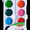 Акварельные водорастворимые краски на палитре KIDS Line 12 цветов