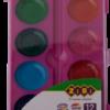 Акварельные водорастворимые краски на палитре KIDS Line 12 цветов 40355