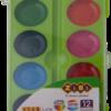 Акварельные водорастворимые краски на палитре KIDS Line 12 цветов 40356