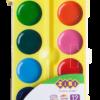 Акварельные водорастворимые краски на палитре KIDS Line 12 цветов 40357