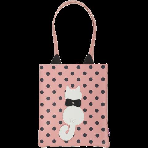 Сумка на плечо PUSSY CAT, 29x35x3 см, розовая ZB.702406