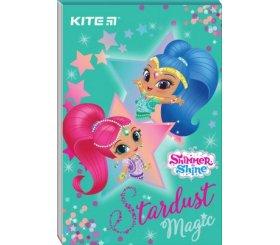 Блокнот А7(маленький!!!) Kite Shimmer&Shine SH20-224, 48 листов, клетка