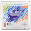 Карандаши цветные KOH-I-NOOR Tri-Tone 23 цвета + 1 карандаш-блендер 3444
