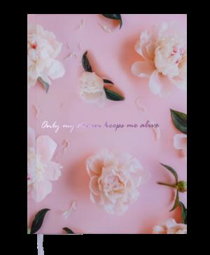 Ежедневник А5 недатированный SPOLETO розовый