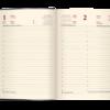 Ежедневник А5 датированный 2021 CHERIE фиолетовый, гибкая обложка, тонированный срез 42539