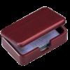 Контейнер для визиток деревянный, красное дерево