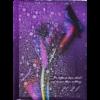 Ежедневник А5 датированный 2021 POSH фиолетовый