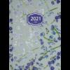 Ежедневник А5 датированный 2021 BLOSSOM голубой