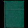 Ежедневник датированный 2021 ORION, A5, зеленый