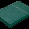 Ежедневник датированный 2021 ORION, A5, зеленый 41906