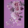 Ежедневник датированный 2021 FILLING, А5, розовый, твердая обложка