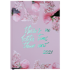 Ежедневник А5 датированный 2021 PRETTY светло-розовый