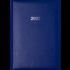 Ежедневник датированный 2021, EXPERT A5, синий