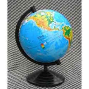 Глобус физический, 110мм, Марко Поло, на украинском языке