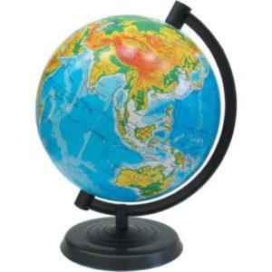 Глобус физический, 320мм, Марко Поло, на украинском языке