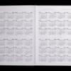 Ежедневник датированный 2021 FANCY, А5, черный, твердая обложка 41816