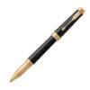 Ручка роллер Parker PREMIER 17 Black Lacquer GT RB 80 022