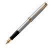 Ручка перьевая Parker SONNET 17 Stainless Steel GT FP F 84 111