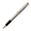 Ручка роллер Parker SONNET 17 Stainless Steel GT RB 84 122