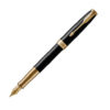 Ручка перьевая Parker SONNET 17 Black Lacquer GT FP F 86 011