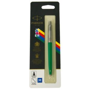 Ручка шариковая Parker JOTTER 17 Plastic Green CT BP блистер 15 236