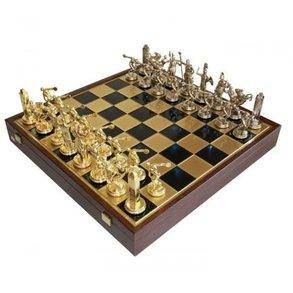 Шахматы Manopoulos Троянская война, синий SK19BLU