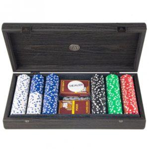 Набор для покера Manopoulos коричневый PXL20.300