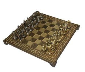 Шахматы Manopoulos Спартанский воин, коричневый S16MBRO