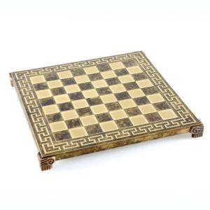 Шахматы Manopoulos Спартанский воин, коричневый S16CMBRO