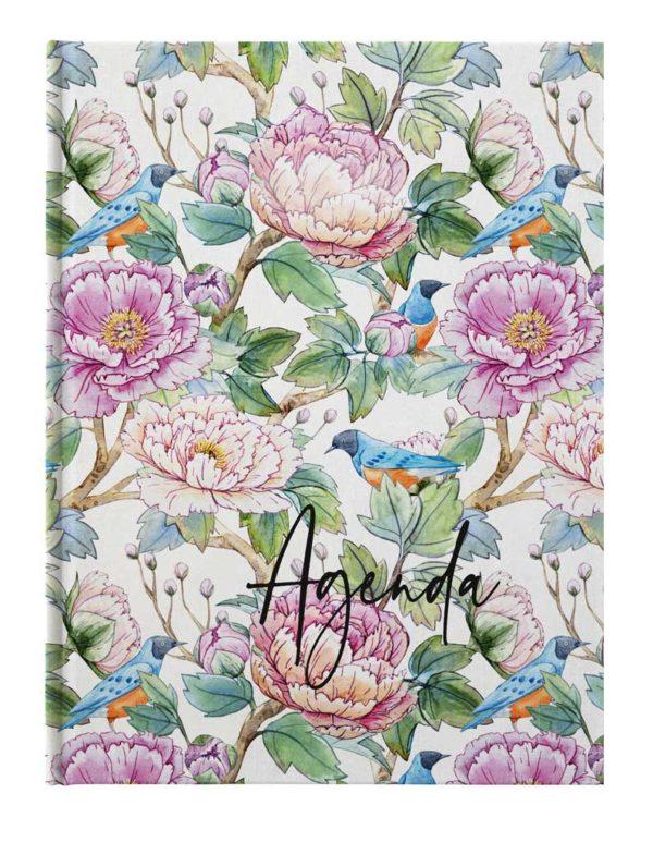 Ежедневник датированный 2021 AGENDA, А5, белый